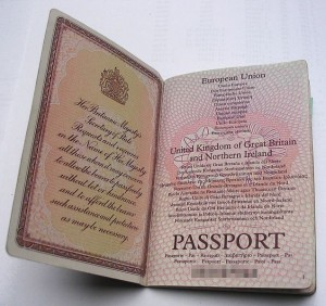 Application For British Passport Form